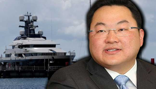 Trithe com: Jho Low's luxury yacht spotted off Aceh, says report