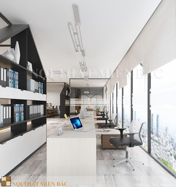 Thiết kế nội thất phòng làm việc được dân văn phòng yêu thích nhất - H3