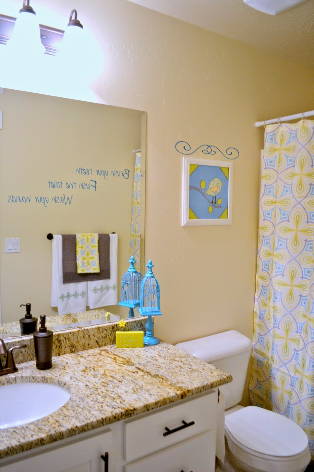 Make it scrappin diy bathroom decor - 5x7 bathroom remodel pictures ...