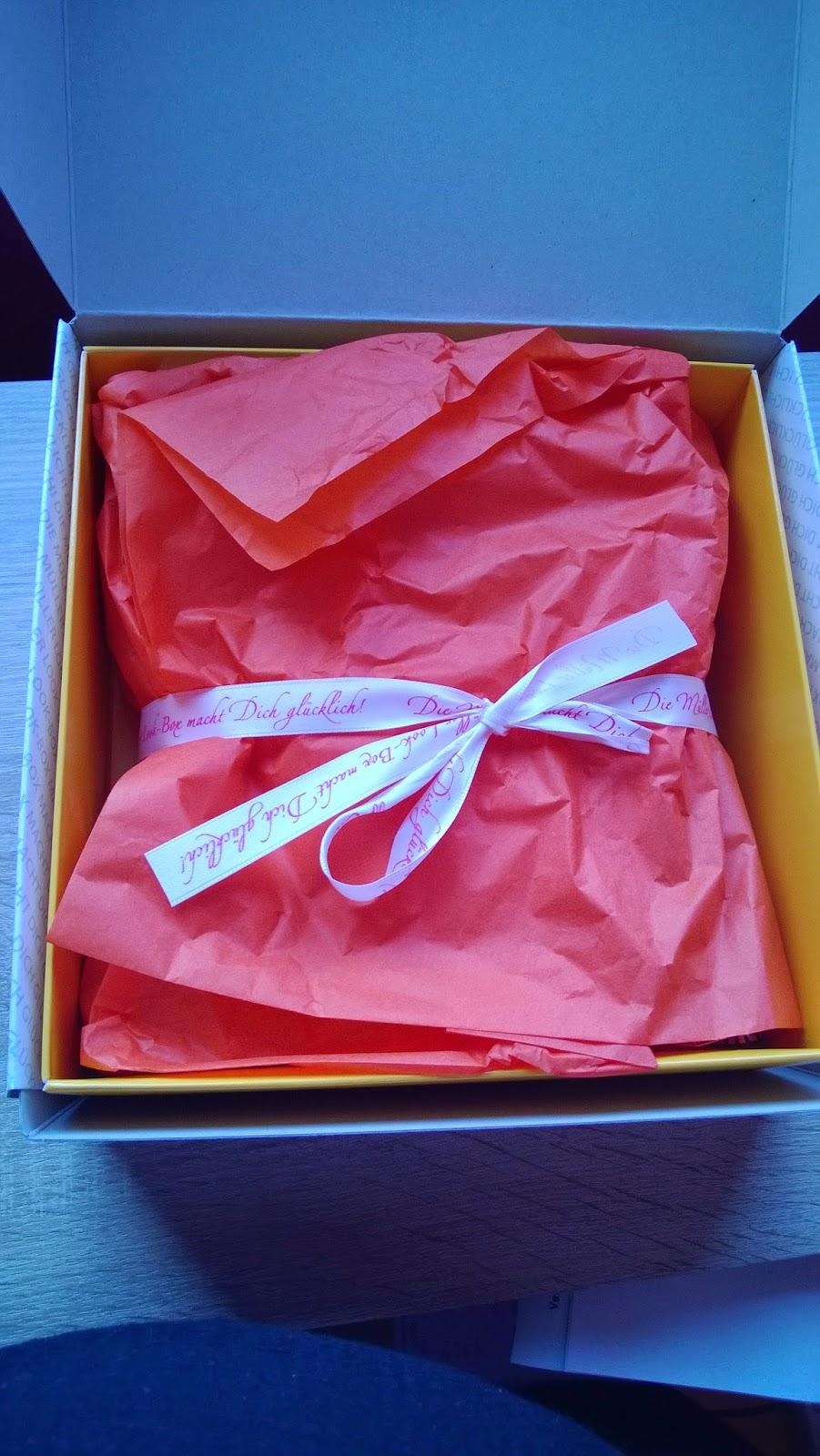 Verpackte Müller Look Box.