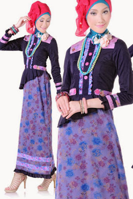 30 Model Baju Muslim Gamis Modern Remaja Terbaru 2018