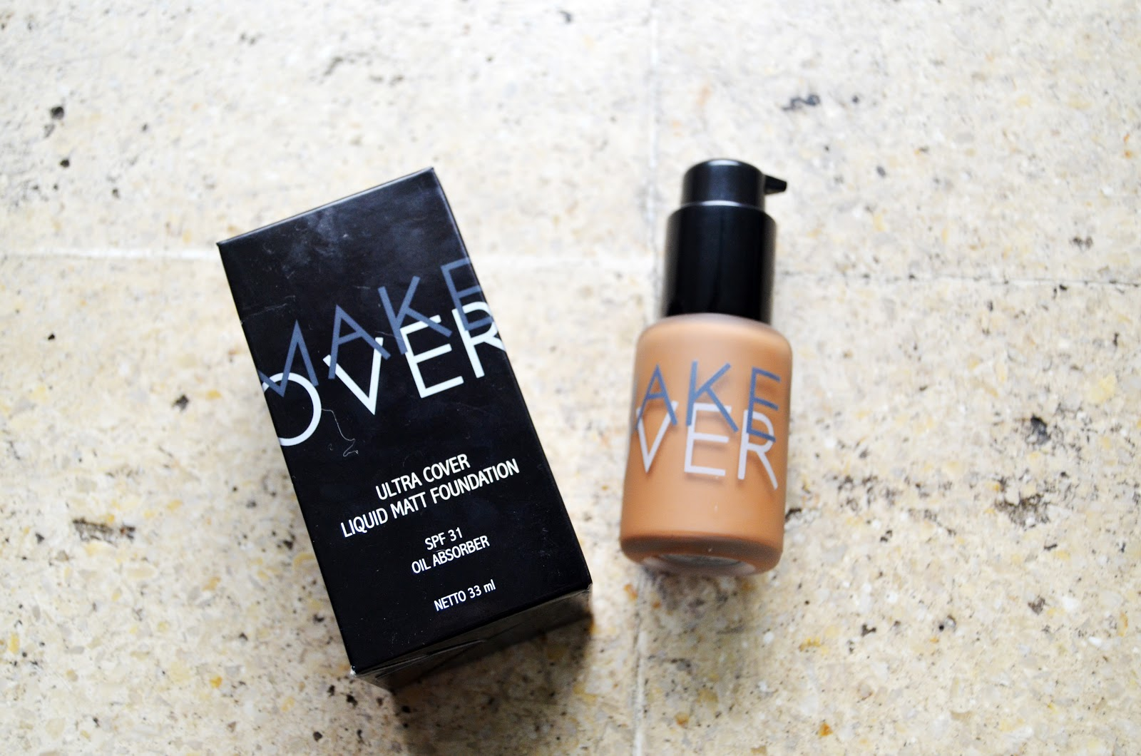 Make Over Ultra Cover Liquid Matt Foundation 07 Caramel Spec Dan 33 Ml Mat Shade