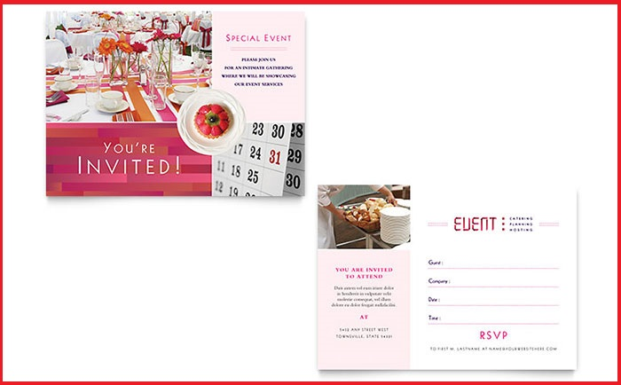 Business Event Invitation Template – Event Invitation Template