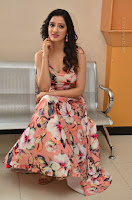 Actress Richa Panai Pos in Sleeveless Floral Long Dress at Rakshaka Batudu Movie Pre Release Function  0143.JPG
