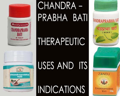 chandra prabha bati and its uses and contraindications