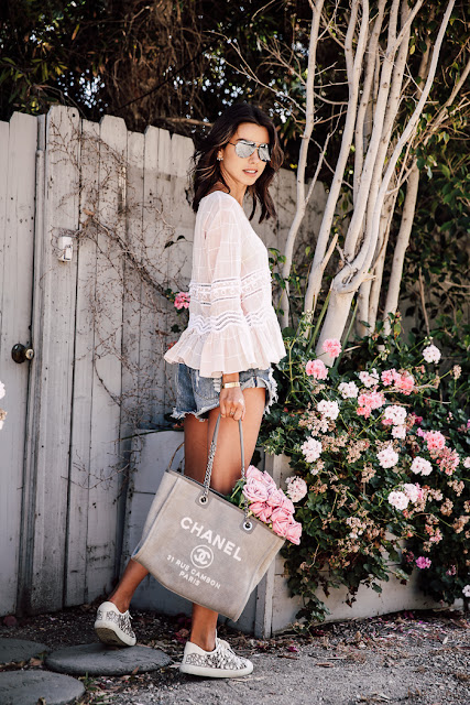 Casual summer look by Viva Luxury | Best fashion Bloggers