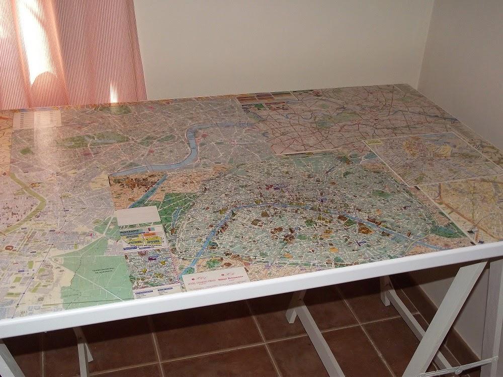 Trastos en el doblao una mesa muy viajera - Mesa estudio cristal ...