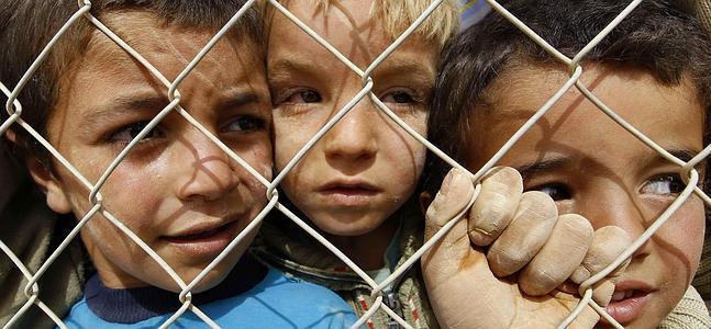 Resultado de imagen de niños refugiados