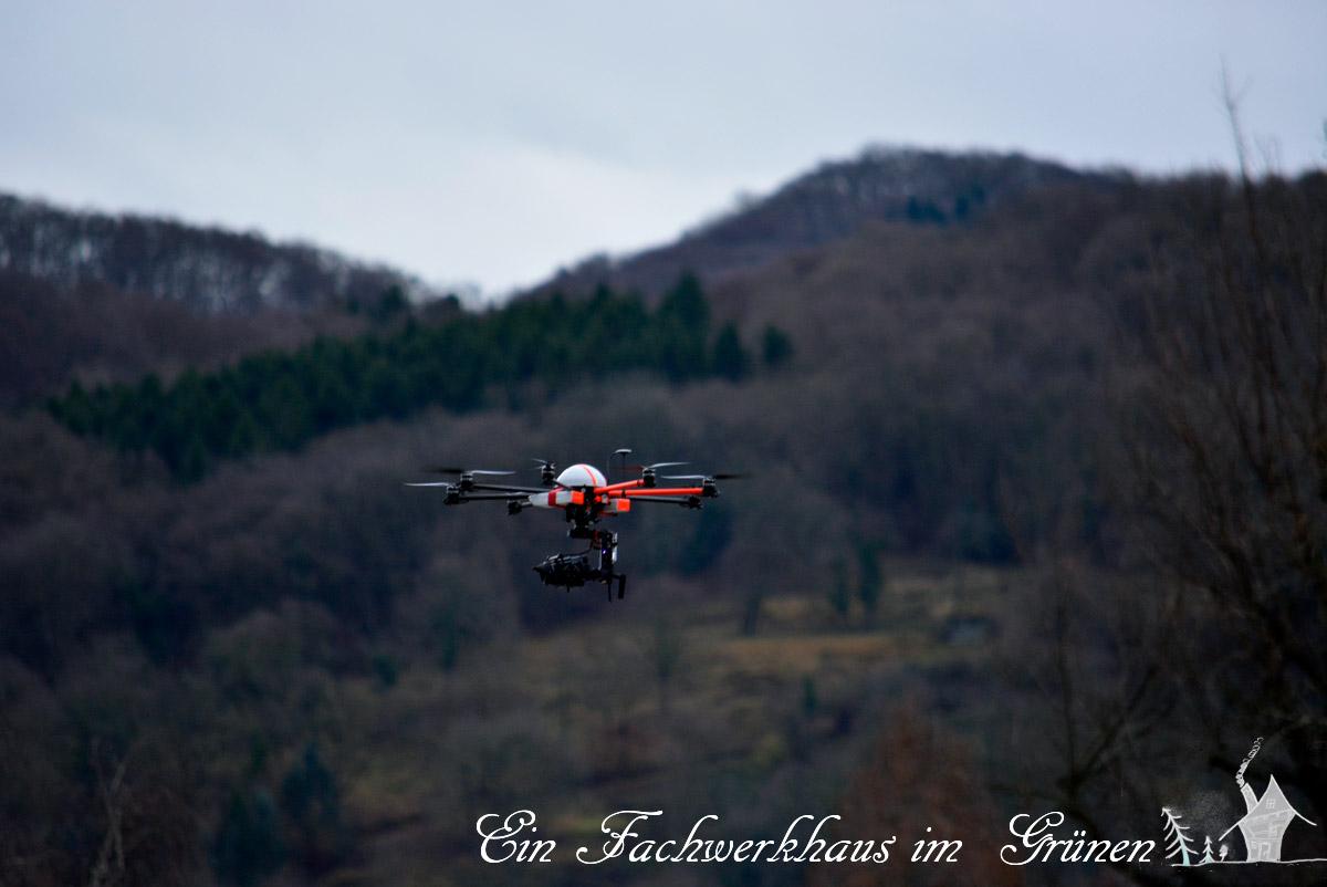 Grafenwerth, Bad Honnef, Hochwasser, Drohne