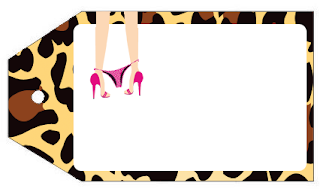 Lingery Hen Party Free Printable Tags.