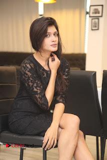 Actress Kimaya Phtoos in Black Short Dress at Kotha Kothaga Unnadi Press Meet .COM 0026.JPG