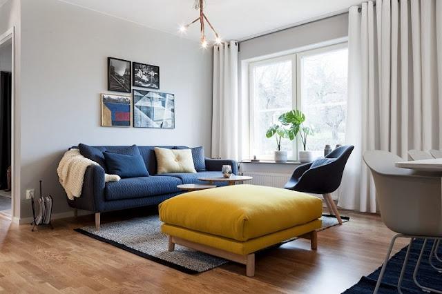 Hình ảnh bộ bàn ghế phòng khách nhỏ siêu đẹp cho không gian phòng khách gia đình Việt
