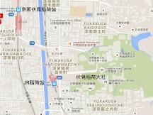 京都-伏見稻荷 京都站+清水寺+宇治交通攻略
