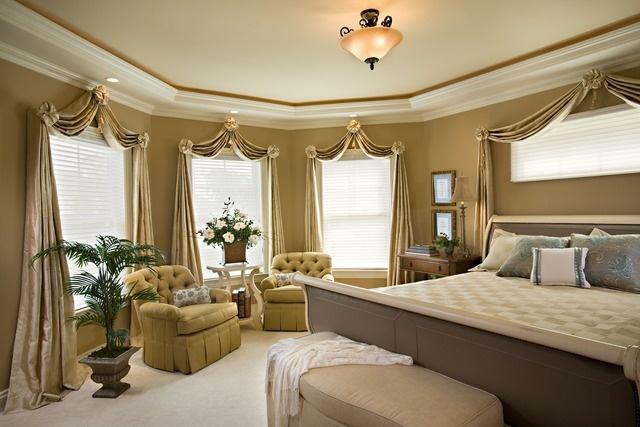 Foundation Dezin & Decor...: Master Bedroom- 7 Impressive ... on Master Bedroom Curtain Ideas  id=20918