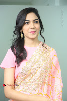Actress Ritu Varma Pos in Beautiful Pink Anarkali Dress at at Keshava Movie Interview .COM 0101.JPG