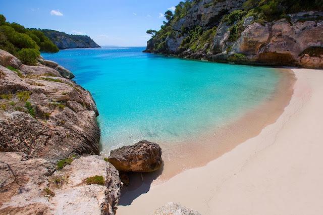 Minorca nas Ilhas Baleares