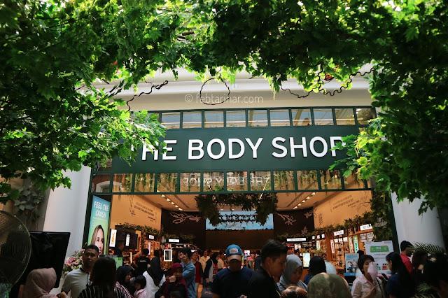the body shop - beauty blogger - rara febtarina
