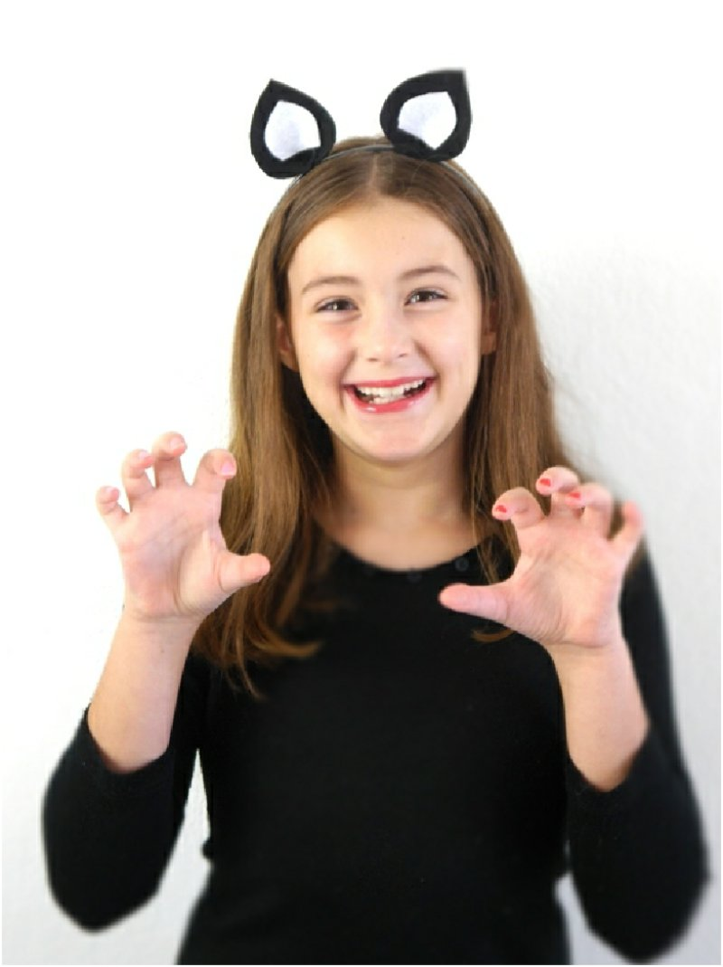 DIY Halloween Costume Animal Ears Headbands