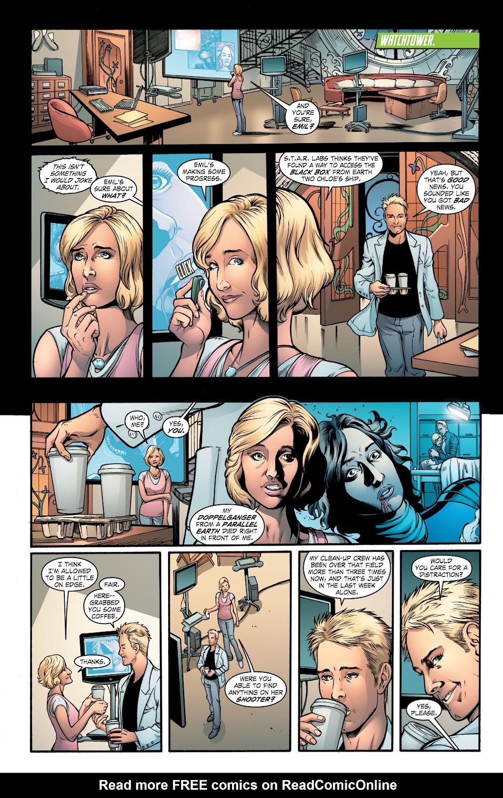 Read online Smallville Season 11 [II] comic -  Issue # TPB 2 - 39