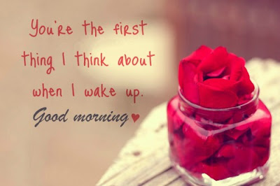 Good Morning wishes with Rose