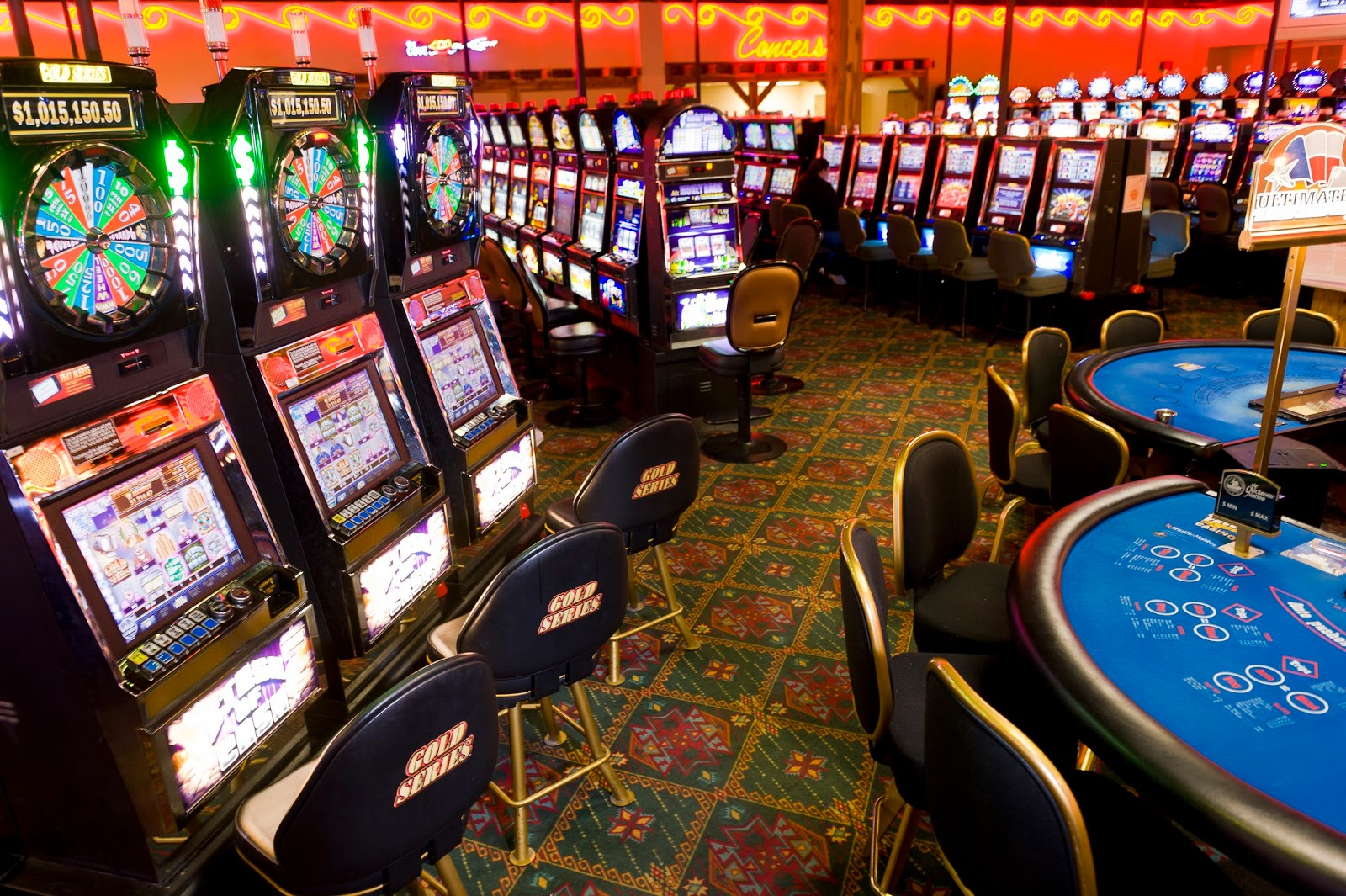gambling machines in utah