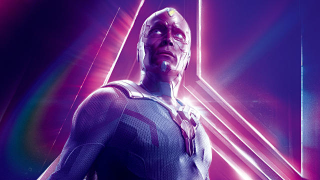 Vision dans Avengers Infinity War - Fond d'écran en Full HD