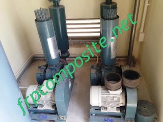 Vệ sinh máy thổi khí xử lý nước thải