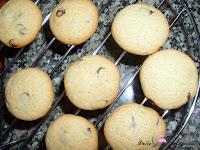 Mini galletas enfriandose