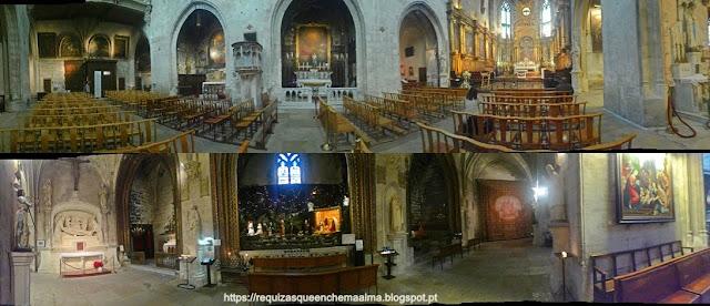 Igreja de Saint Pierre, Avignon é um imponente monumento