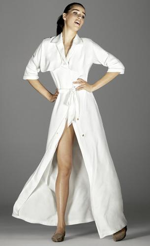 vestido blanco El Corte Ingles de Juanjo Oliva colección fiesta 2016