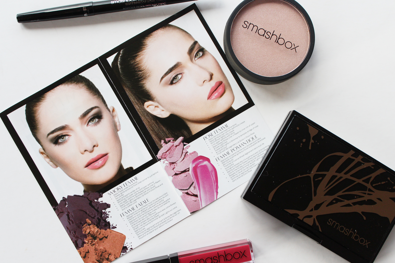 SMASHBOX | Glam Femme Makeup Set - Review + Swatches - CassandraMyee