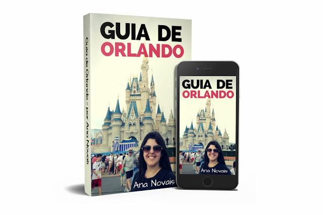 Compre aqui o seu Guia de Orlando - tudo para organizar a sua viagem para os parques da Disney, Universal e muito mais!