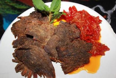 Resep Dendeng Bakar Daging Sapi