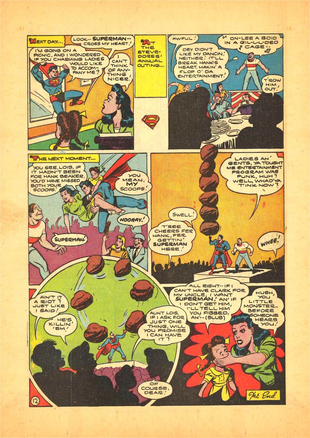 Read online Action Comics (1938) comic -  Issue #68 - 13