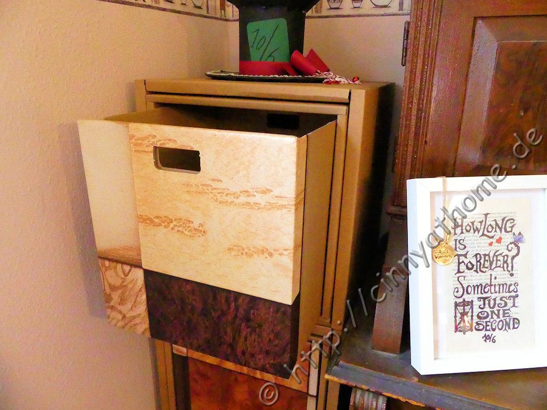 Cinny@Home: Mein Schubladen Regal komplett aus Karton #Kurtl ...