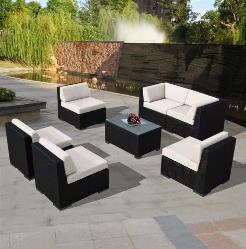 Piece Sectional Sofa and Chaise Lounge Set