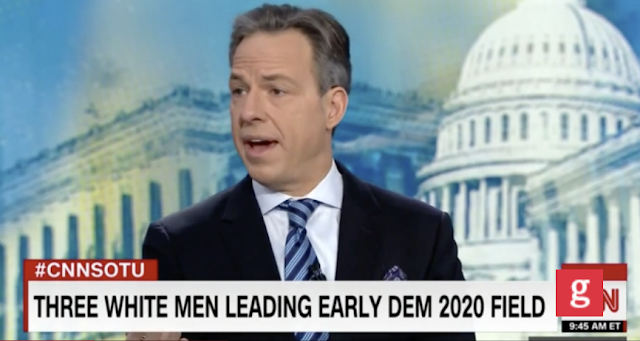 CNN's Carpenter: 'Odd' that Three White Guys Are Atop the Dems Polls for 2020