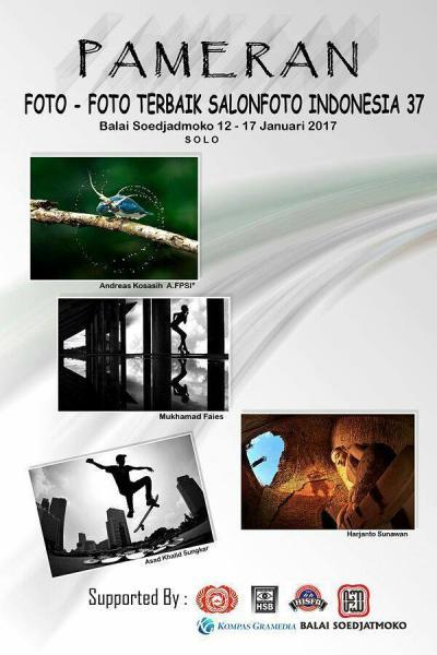 Event Pameran Salon Fhoto Indonesia Tahun 2017 - Kota Solo