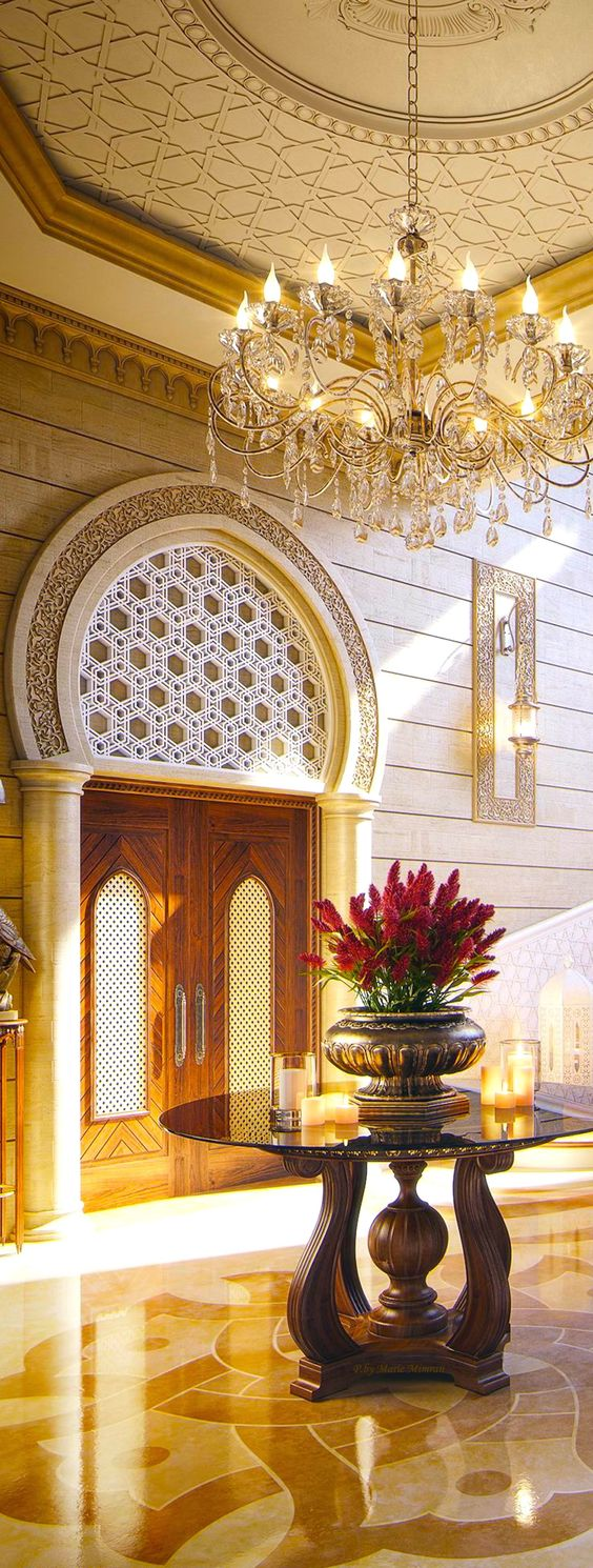 هل انت من عشاق ديكورات الجبصين العربي الك افضل التصاميم للقصور والفلل