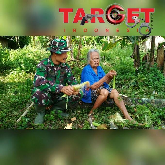 Do'a Mbah Suparmi Buat Anggota TNI di TMMD Desa Godo Winong Pati