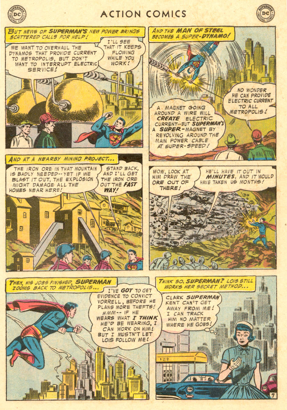 Action Comics (1938) 221 Page 8