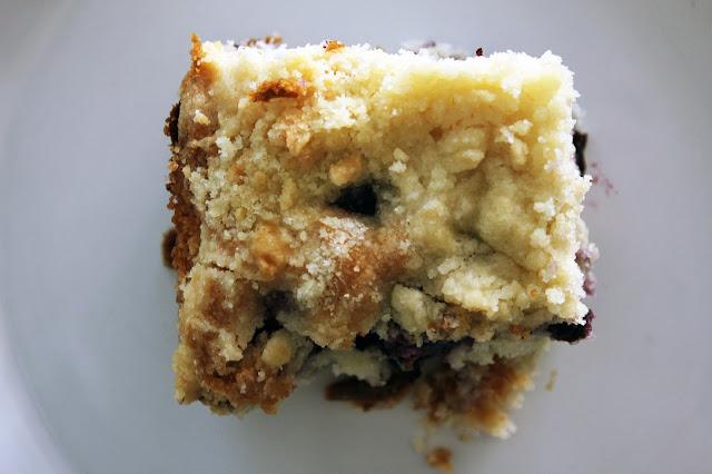 Recipe for Blueberry Coffee Cake by freshfromthe.com.
