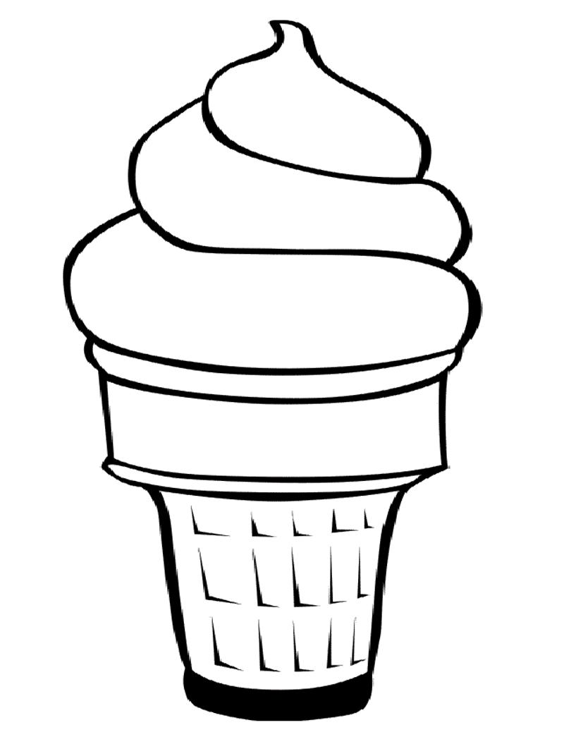 Sketsa Gambar Es Cream