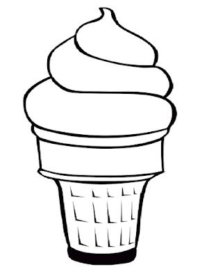 Gambar Mewarnai Ice Cream - 4
