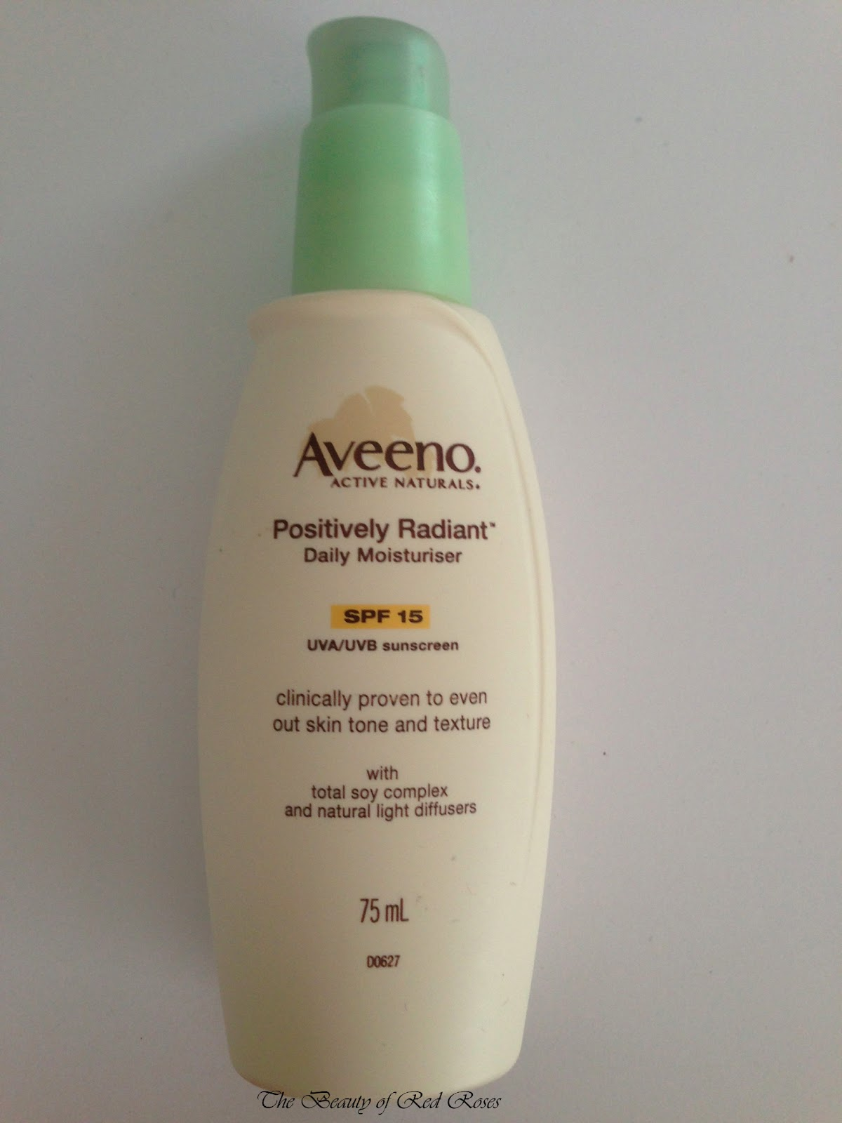 Is aveeno positively radiant oil free