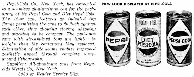 1967 Pepsi-Cola pull top cans