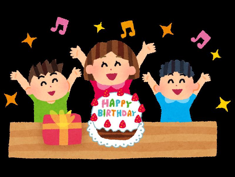 「誕生日 イラスト フリー」の画像検索結果