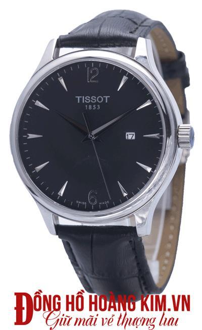 đồng hồ nam tissot 1853 mới về dây da