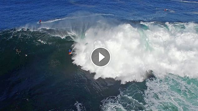 Shipstern Bluff From Above Eyes in the Sky Visuals