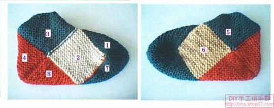 calcetines, crochet, restos de lana, calcetín, tutorial